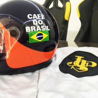 Fittipaldi Replica Suit JPS-helmet
