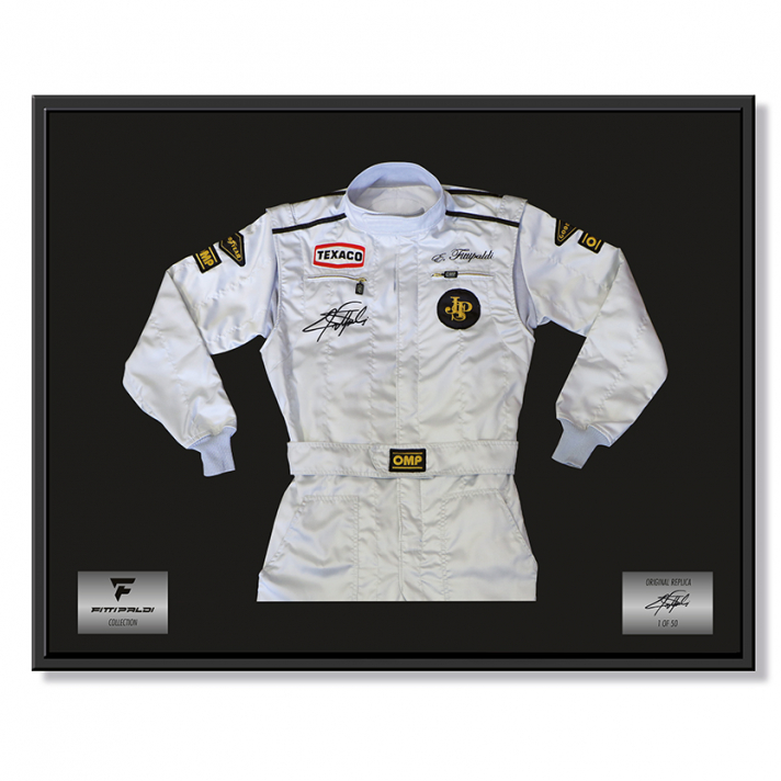 Emerson Fittipaldi Suit