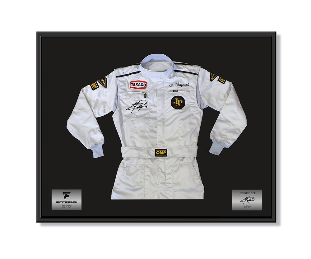 Emerson Fittipaldi Suit